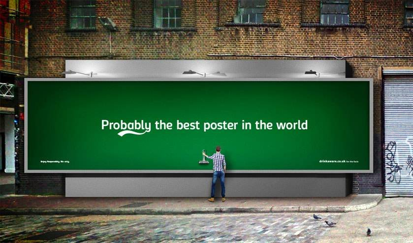 Probably the best poster in the world Carlsberg