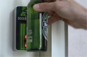 heineken door lock champions league