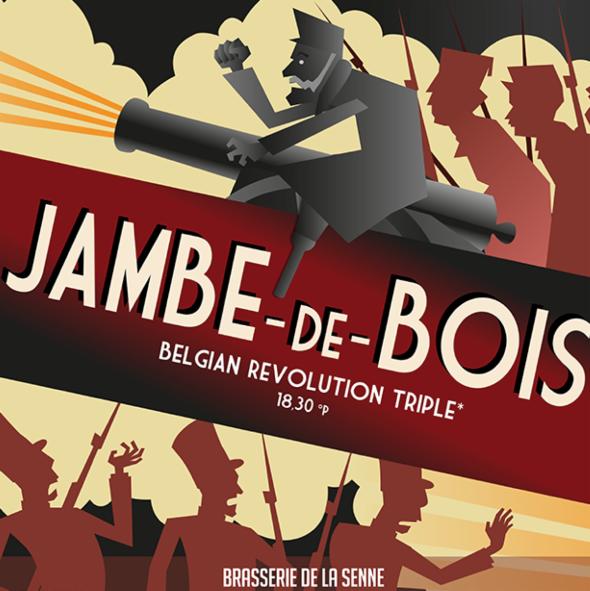 JAMBE DE BOIS BELGIAN BEER