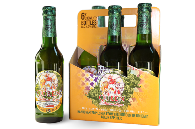 Queen Bohemian Lager Pack