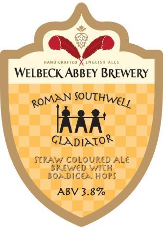 Gladiator beer Welbeck