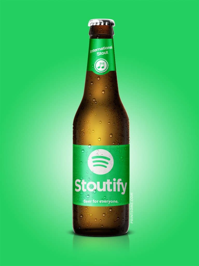 Stoutify spotify beer