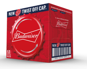 Budweiser twist off