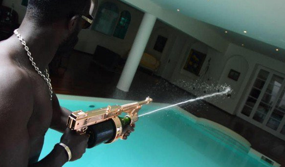 gun champagne