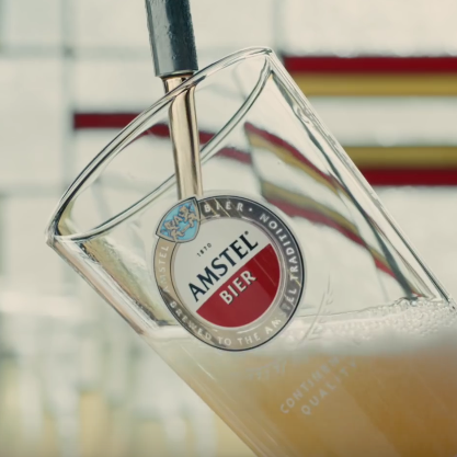 AMSTEL FIRST TV ADVERT